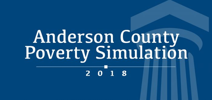 Anderson County Poverty Simulation