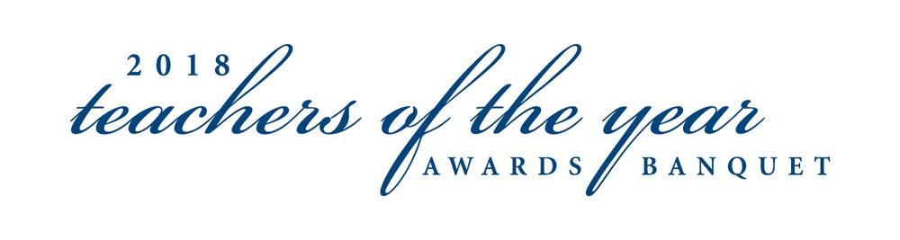 Teacher of the Year Awards Banquet logo